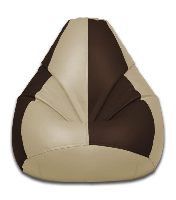 brown and beige bean bag furniture store qatar