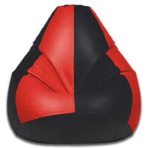 red and black bean bag